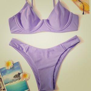 NEW Lilac underwire bikini